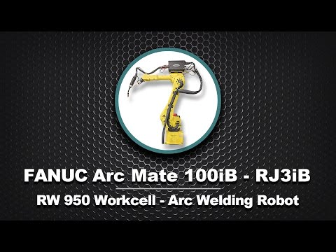 FANUC ArcMate 100iB in RW950 Welding Workcell