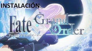 FATE GRAND ORDER LATINO COMO INSTALAR EL JUEGO (ANDROID)