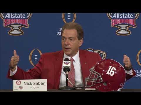 TigerNet: Nick Saban final Sugar Bowl press conference