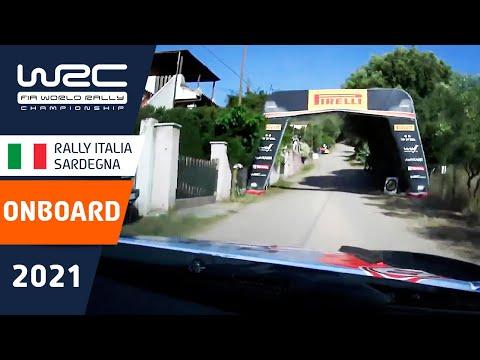 ヒュンダイ ヌービルのオンボード映像 WRC 2021 第5戦ラリー・イタリア シェイクダウン