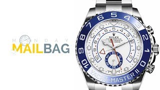 Mailbag! Rolex V Ulysse Nardin; Driver's Watches; Patek Philippe Aquanaut Or Rolex Sea-Dweller SD43?