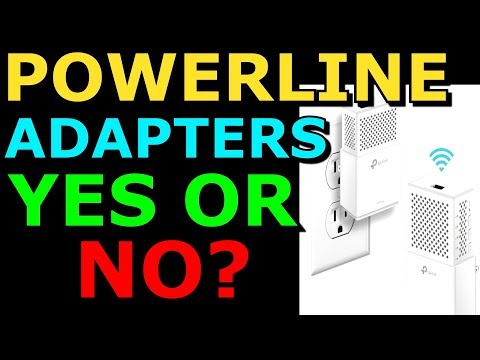 Powerline Adapters TP-Link AV1000 1GB/s Ethernet Powerline Adapters Thorough Review Install and Test