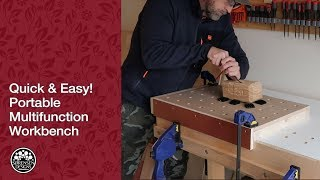 Portable Multifunction Workbench