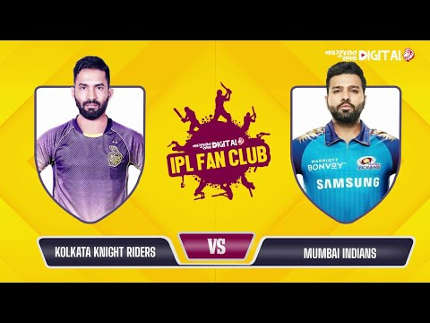 Fantasy League | Dream 11 Team Today | IPL Fan Club - Mi VS KKR