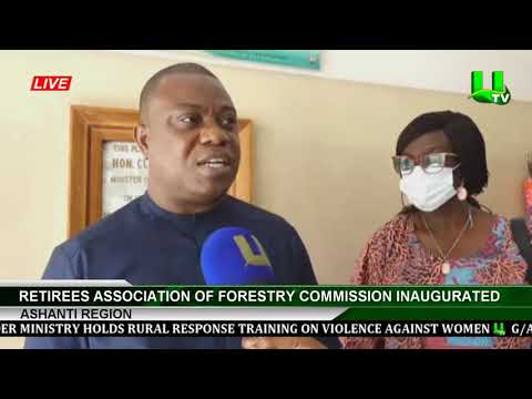 Retirees Association Of Forestry Commission Inaugurated