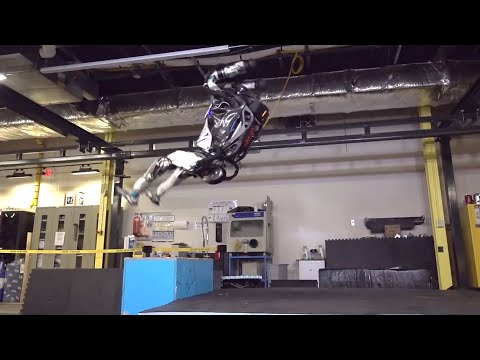 Be very afraid … robots can now do backflips