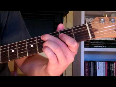 How To Play the C#m9 Chord On Guitar (C sharp minor ninth) 9th