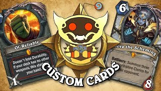 TOP CUSTOM CARDS OF THE WEEK #31 | Card Review | Hearthstone