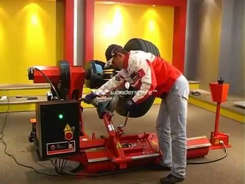 Bright Truck Tyre Changer Demonstration