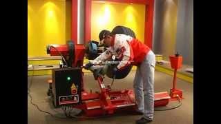 Грузовой шиномонтажный станок Bright LC588 от компании Karcher и Nilfisk Alto - видео