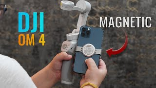 DJI OM 4 Review - Smartphone Gimbal with detachable magnetic holder (just perfect)