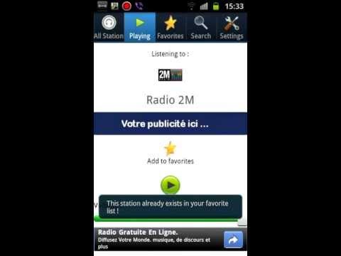Video of RadioMA v2.0 - Morocco