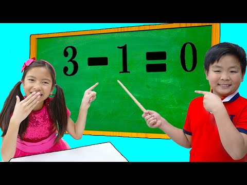 Download Wendy Alex and Lyndon Learn Math & Numbers for the School Exam | Fun Kids Videos HD Mp4 3GP Video and MP3