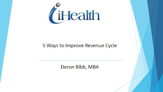 5 Ways to Improve Revenue Cycle