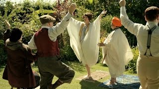 The Guru teaches yoga - Mapp & Lucia: Episode 2 Preview - BBC One Christmas 2014