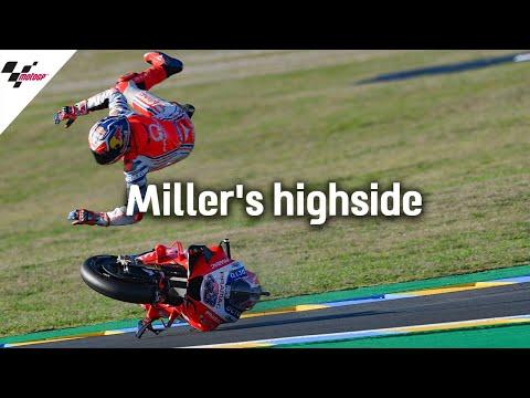 衝撃のハイライト映像。ミラーが吹っ飛ぶハイライト動画。MotoGP フランスGP