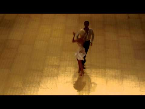 2015 UK Open Dance Championships Michael Malitowski Joanna Leunis Cha cha show dance