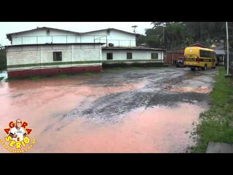 Enchente na Prefeitura de São Lourenço da Serra