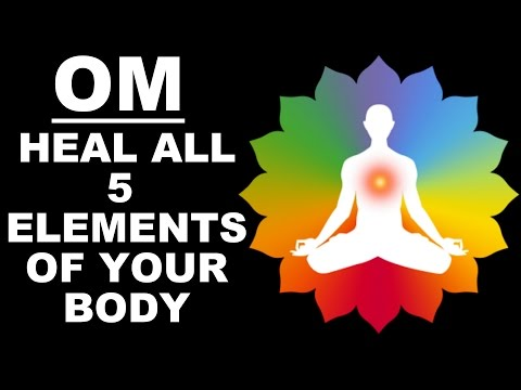 HEALING OM MEDITATION: 5 ELEMENTS / PANCH-BHOOT MANTRA : VERY POWERFUL