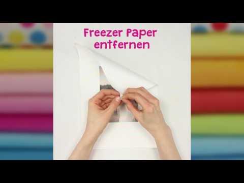 Quick Tip – Stoff bedrucken mit dem Tintenstrahldrucker