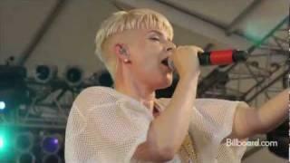Bonnaroo 2011 - ROBYN LIVE