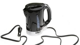Waeco Mck 750 ml mobile car kettle test