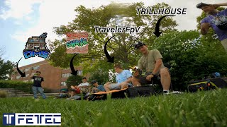 ONE PACK RIP | SOLAR POWER LOT | 6S PACK #fpvfreestyle #fpvdrone