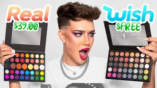 FREE MAKEUP!? 👀 Full Face Using Makeup From WISH!
