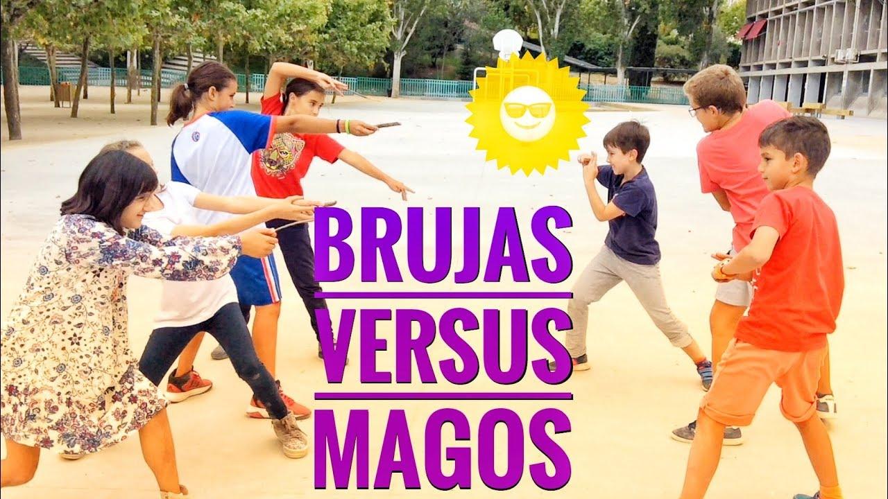 Brujas versus Magos - acción y aventuras - Cortos para niños 2017