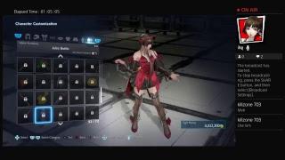 Tekken 7 online playing with friends pt 1