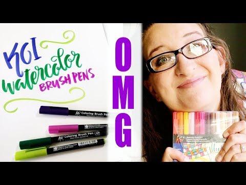 Pen Review | Koi Watercolor Brush