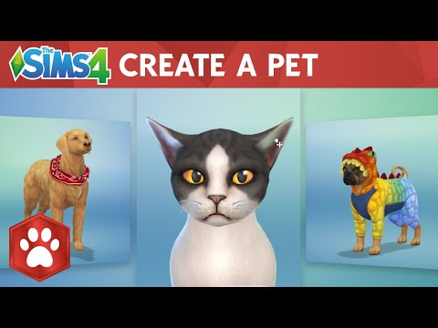 The Sims 4 Cats & Dogs: Create A Pet Official Gameplay Trailer thumbnail