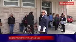 ANTENNA SUD – 23 ottobre – ec CCR in protesta davanti alla asl bari