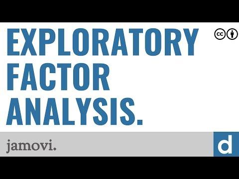 Exploratory factor analysis — jamovi