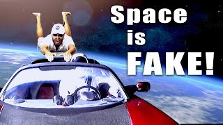 Space is Fake! - Flat Earth Man