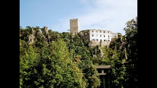 preview picture of video 'Burgruine Scharfeneck+Rauhenstein in Baden'