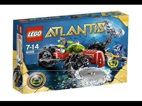 Vidéo LEGO Atlantis 8059 : Le tout-terrain des profondeurs
