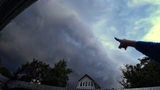 ВЛОГ Ураган в Москве   Последствия грозы   Приколы в бассейне 30.06.2017