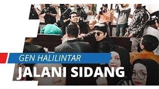 Gen Halilintar Jalani Sidang Pelanggaran Hak Cipta di Pengadilan Negeri Jakarta Pusat
