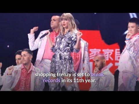 Alibaba Singles' Day shopping frenzy nears record