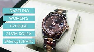 Dazzling Women's Everose 31MM Rolex