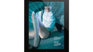 L'application iPad du magazine n°4 Vanity Fair avec Charlotte Gainsbourg