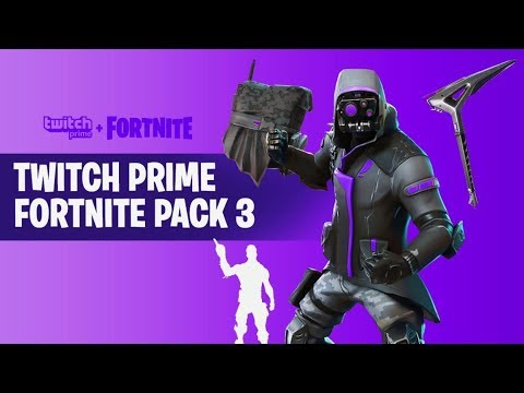 Twitch Prime Fortnite Pack 3 Release | Fortnite Aimbot