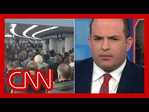 Brian Stelter reacts