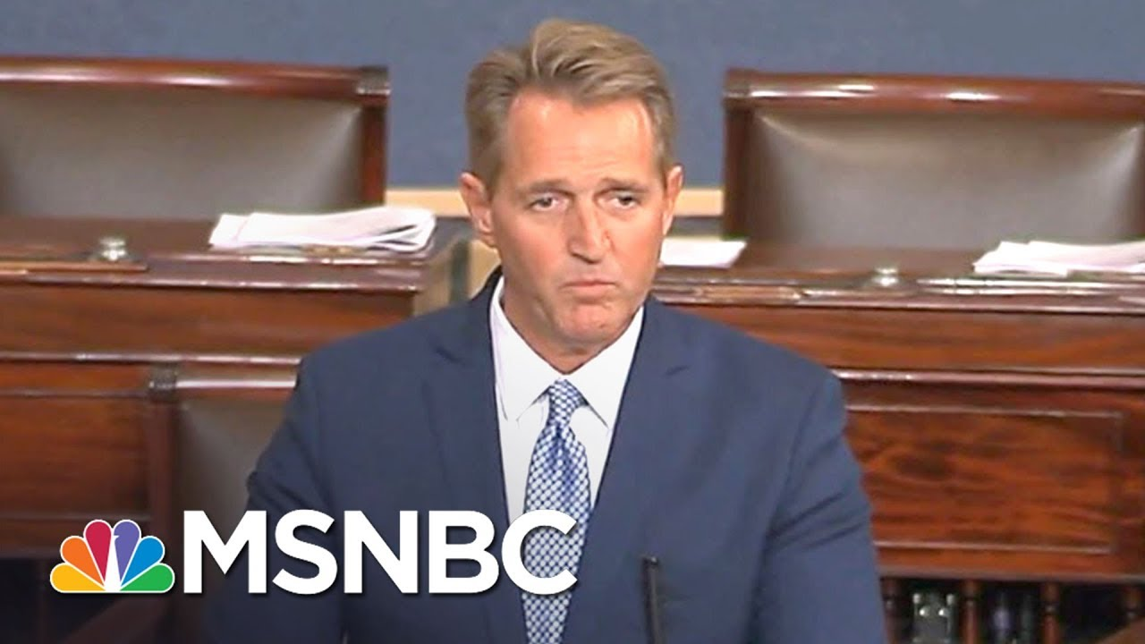 Terminally Ill Man Confronts Jeff Flake On Health Care Cuts | All In | MSNBC thumbnail