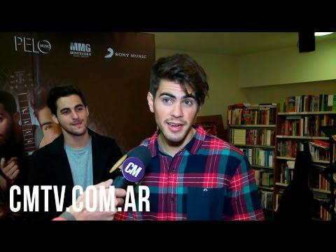 Rombai video Entrevista CM | Argentina - Firma de discos - Junio 2016