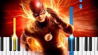 The Flash - Main Theme - EASY Piano Tutorial