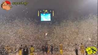 Aris Thessaloniki - Superb performance by ARIS' fans | SUPER3 Official