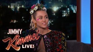 Miley Cyrus on Hosting the VMAs