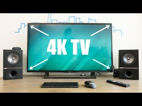 Best 4K TV for a Computer Monitor! – Sony 43X720E